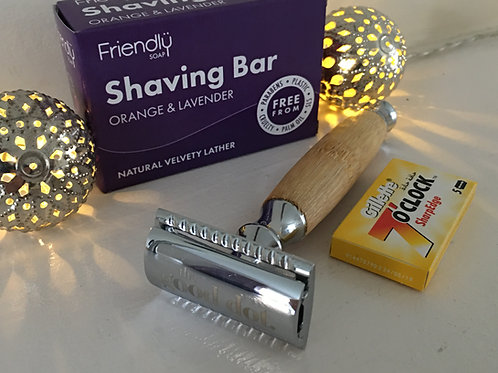 Razor Shave Gift Set: 3 Colours available