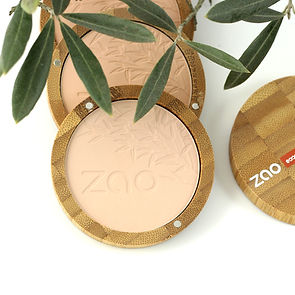 Face powder compacts by Zao