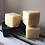 Natural solid shampoo bars out of their box