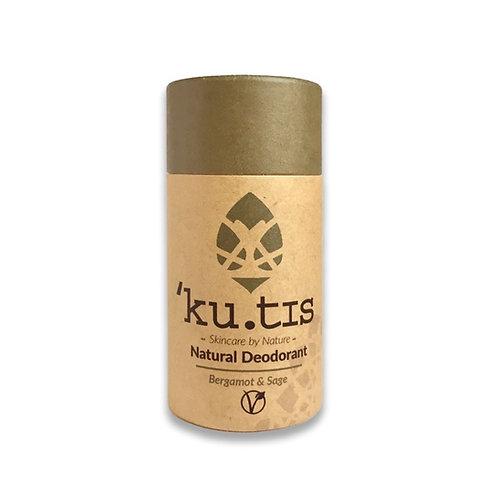 Kutis Deodorant Stick: Bergamot & Sage