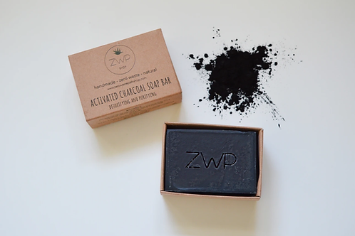 Activated Charcoal Face & Body Soap