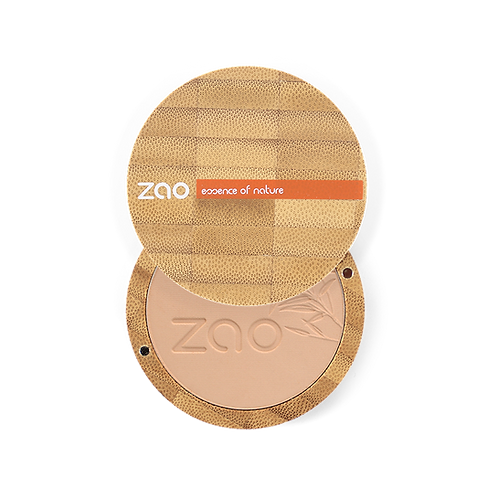Zao Compact Powder: Brown Beige