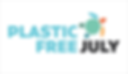 Plastic free July 2020 logo