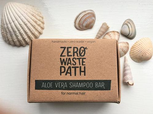 Aloe Vera Shampoo Bar: For normal & oily hair