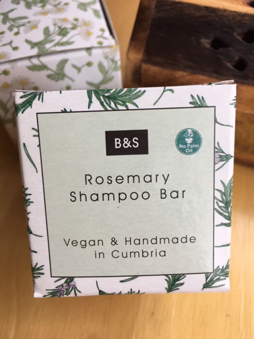 Natural Rosemary Shampoo bar for dark hair