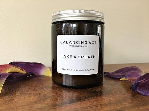 Aromatherapy Candle: Take A Breath