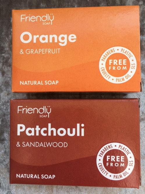 Cruelty free soap Invigorating set