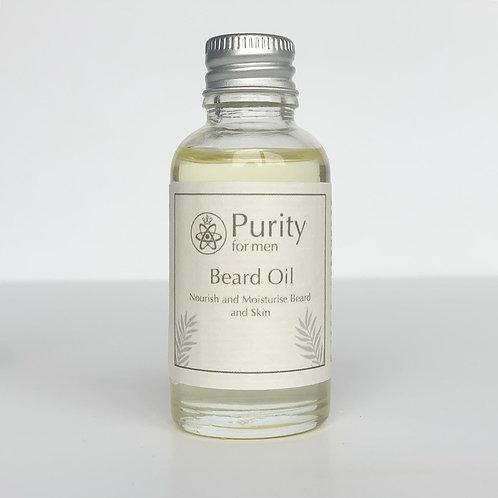 Nourish & Moisturise Beard Oil by Purity for Men