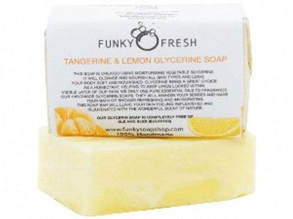 Funky Soap Tangerine & Lemon Soap
