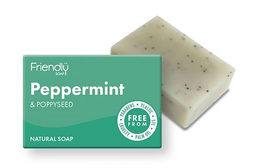 Paraben free soap Peppermint