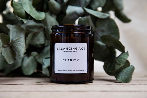 Aromatherapy Candle: Clarity