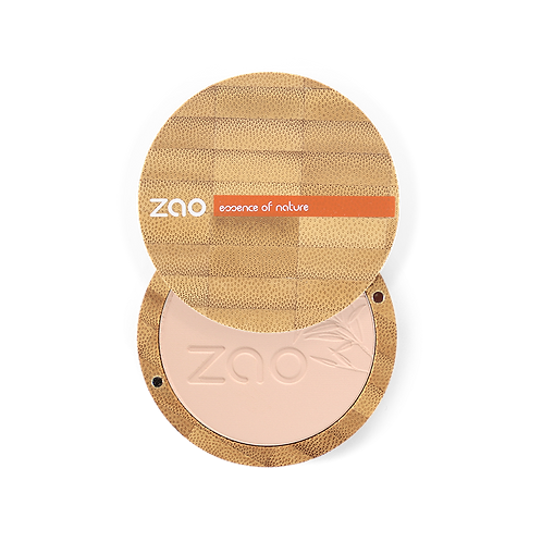 Zao Compact Powder: Cappuccino