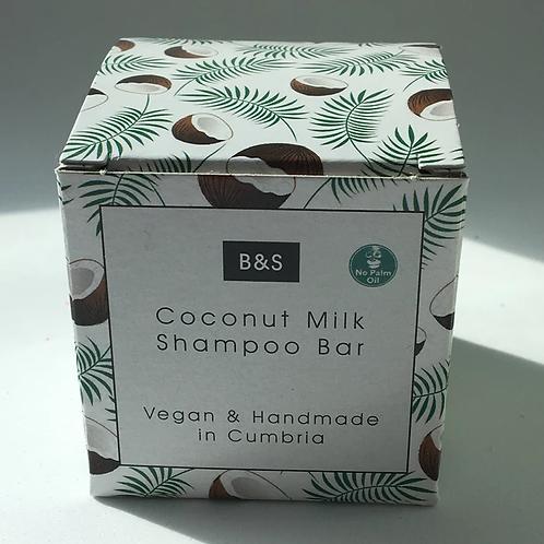 Coconut Milk shampoo bar