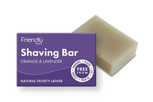 Orange & Lavender Shaving Bar