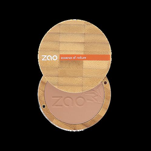 Zao Compact Powder: Milk Chocolate