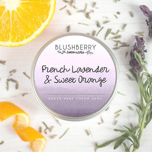 Blushberry Botanicals hand cream Lavender