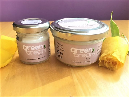 Green Cream Love Body Lotion: 2 sizes available