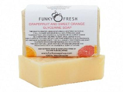 Funky Soap Grapefruit & Sweet Orange Soap