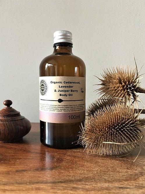 Heavenly Organics Cedarwood, Lavender & Juniper Berry Body Oil