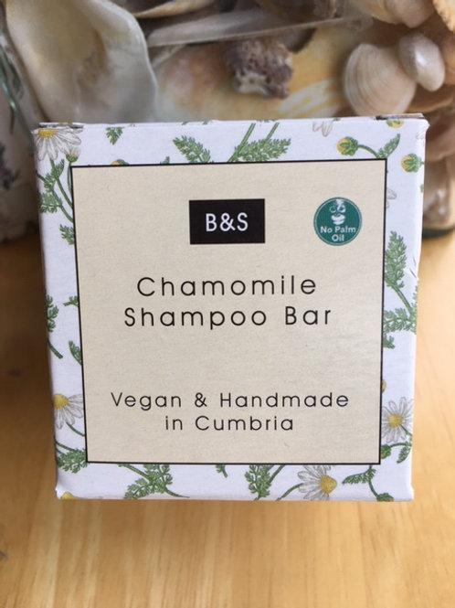 Natural vegan Chamomile Shampoo Bar for fair hair