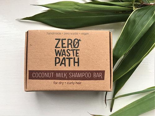 Coconut Milk Shampoo Bar: For dry & curly hair