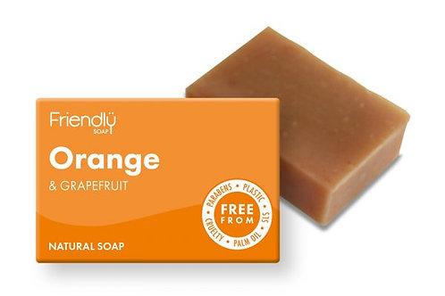 Natural soap Orange