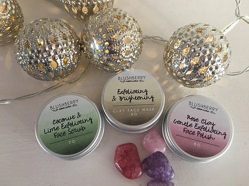 Face Mask Minis: Exfoliate & Cleanse Set