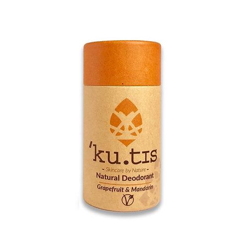 Kutis Deodorant Stick: Grapefruit & Mandarin