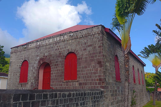 Ebenezer Methodist Church St. Kitts