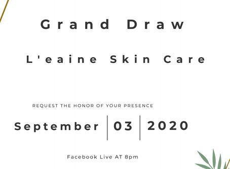 Grand Draw on 3/9/2020