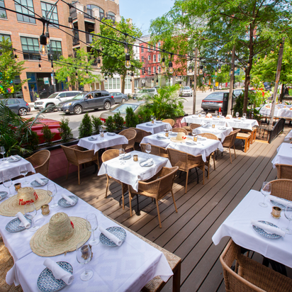 20 New Outdoor Dining Options in Chicago