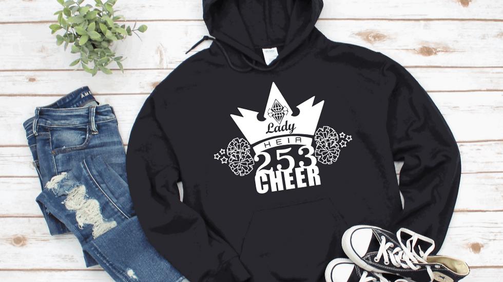 Lady Heir 253 Cheer Hooded Sweatshirt