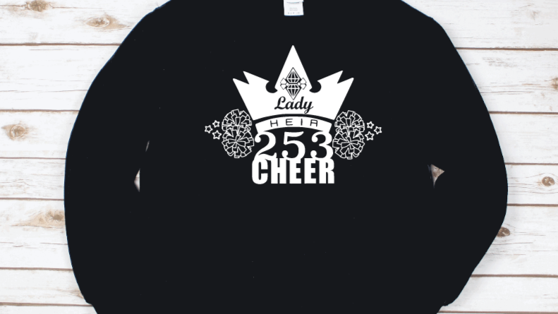 Lady Heir 253 Cheer Long Sleeve Shirt