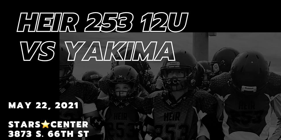 Heir 253 12U Vs Yakima