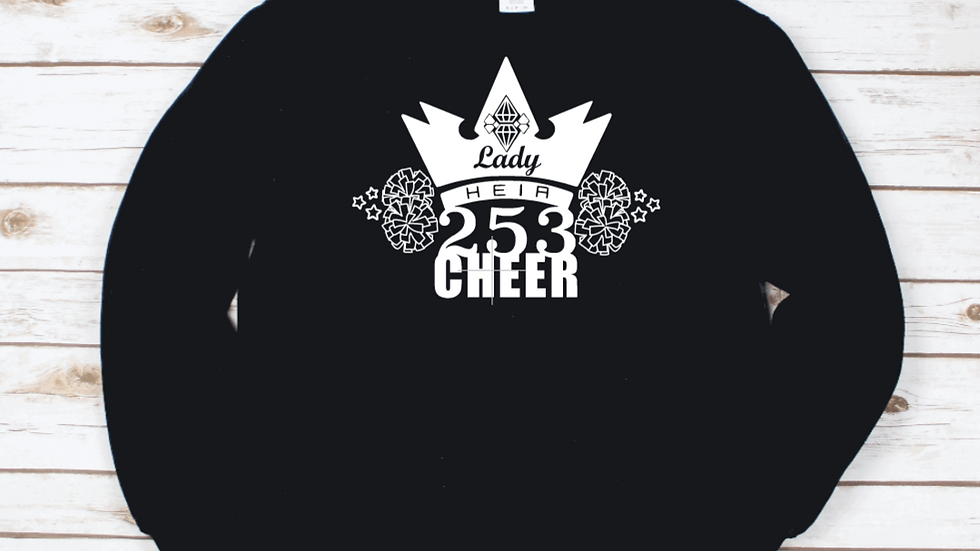 Lady Heir 253 Cheer Crewneck Sweatshirt