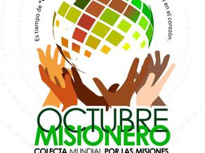 Octubre Misionero 2021: OMP presenta gráfica.