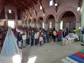 Inauguran en Merlo, San Luis, sede diocesana de las Obras Misionales Pontificias.