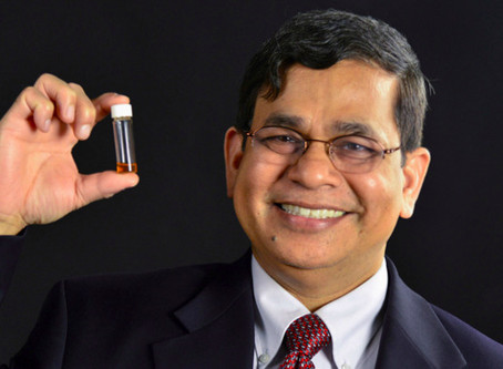 Dr. Shyam Mohapatra, FAN President, receives the Florida Academy of Sciences 2020 Medal