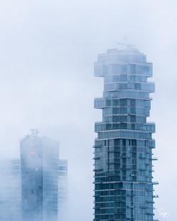 Jenga in the Fog
