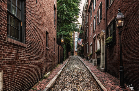 Streets of Colonial America