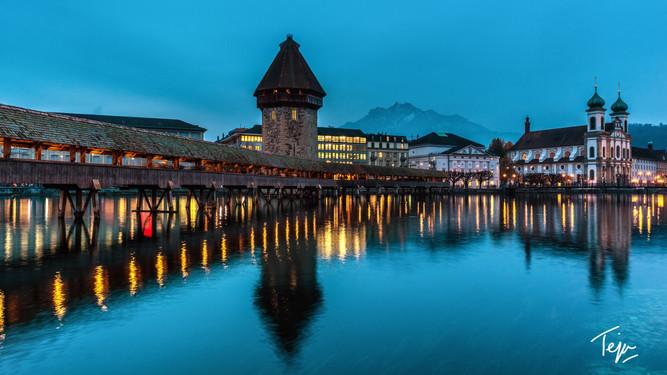 Bluelight over Lucerne
