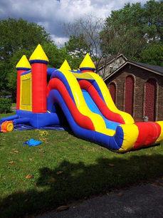 Large Bounce House Rental w/slide