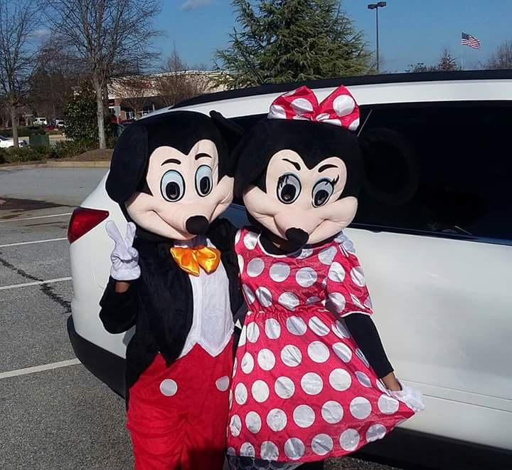 Lady & Man Mouse