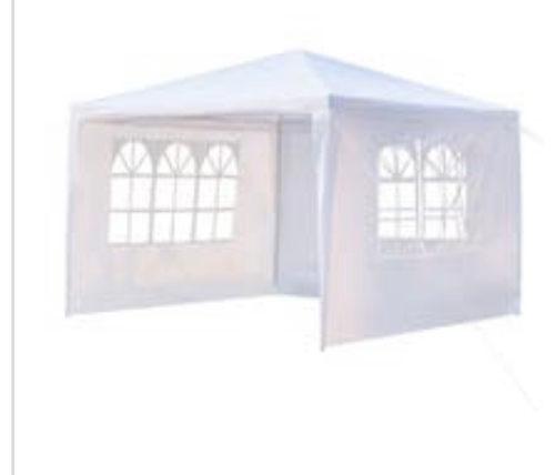 10x10 Tent - Black or White