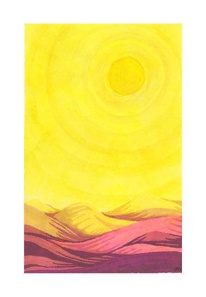 Desert Sun - Print
