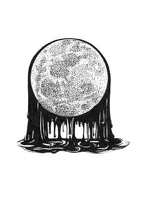 Moon Drops - Print