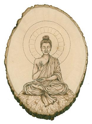 Peaceful Buddha - Print