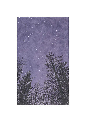 Purple Skies - Print
