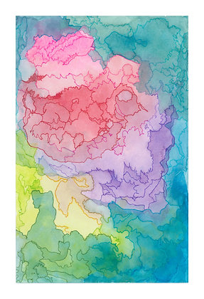 Abstract Colors - Print