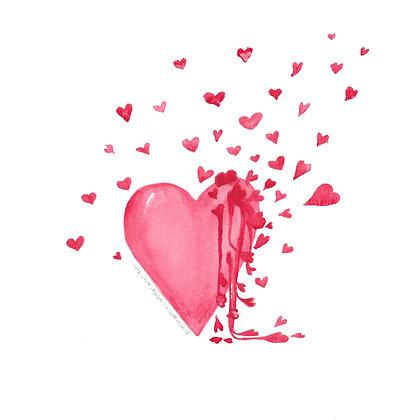 Bleeding Love - Print